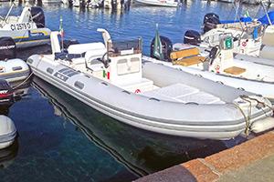 Escursioni Asinara Stintino Noleggio Gommoni - BSC 610 150 hp