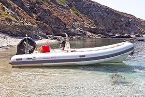 Escursioni Asinara Stintino Noleggio Gommoni - BWA 2 500 40 hp