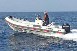 Escursioni Asinara Stintino Noleggio Gommoni - BWA 550 Sport 40 hp