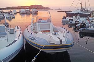 Escursioni Asinara Stintino Noleggio Gommoni - Marlin 28