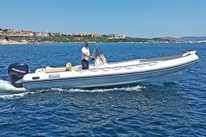 Escursioni Asinara Stintino Noleggio Gommoni - Seawater 750 Gt 275 hp